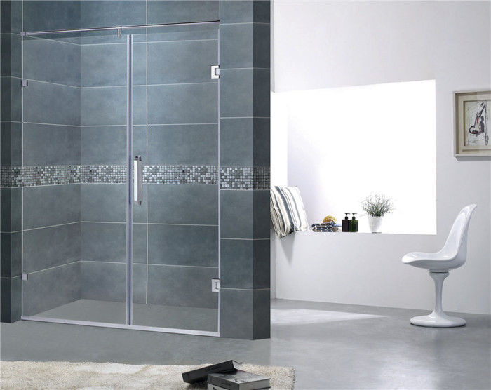 Customized Frameless Shower Screens 8MM Easy Clean Tempered Glass CE Certification