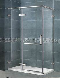 10 MM Frameless Pivot Shower Door / Frosted Shower Enclosure CE Sertifikasi